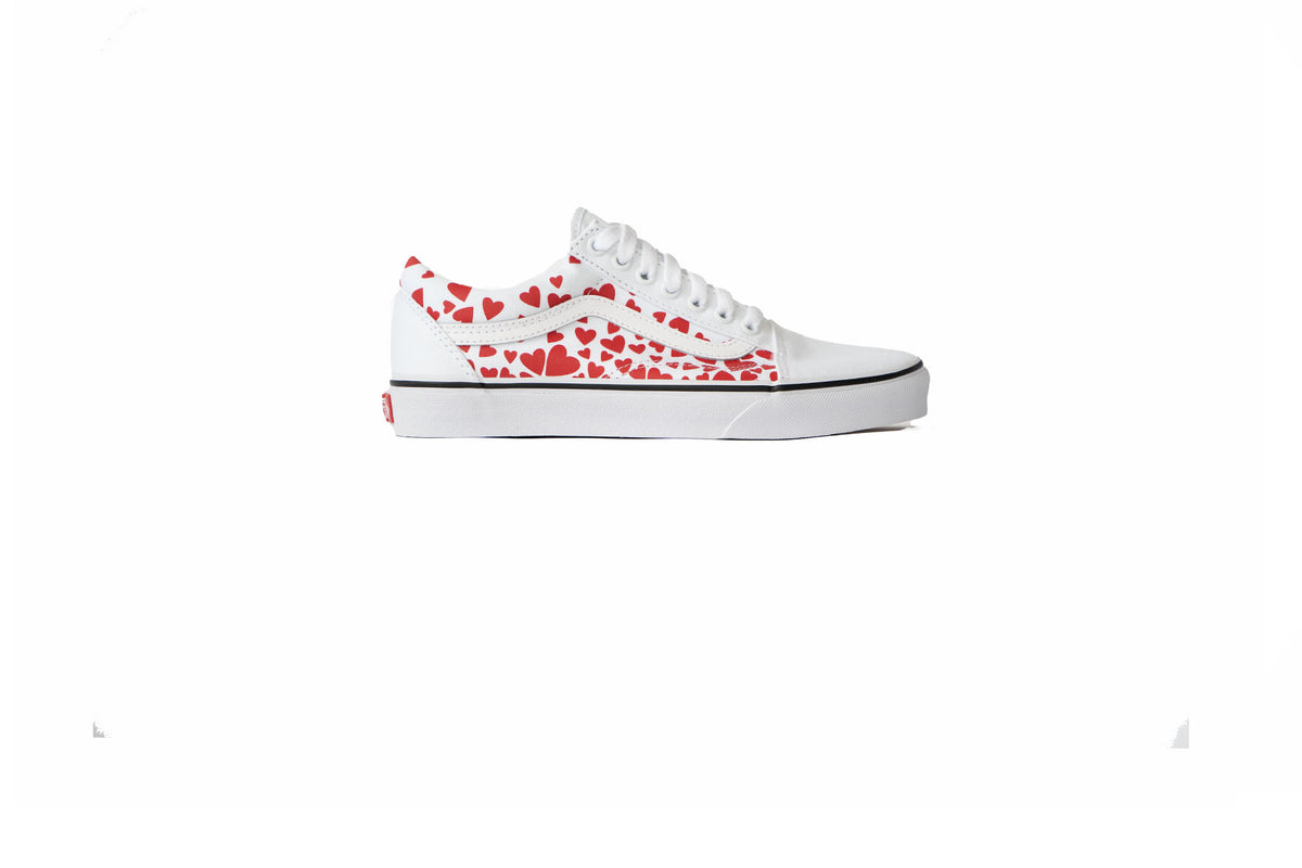 Vans Old Skool Valentines Day Hearts