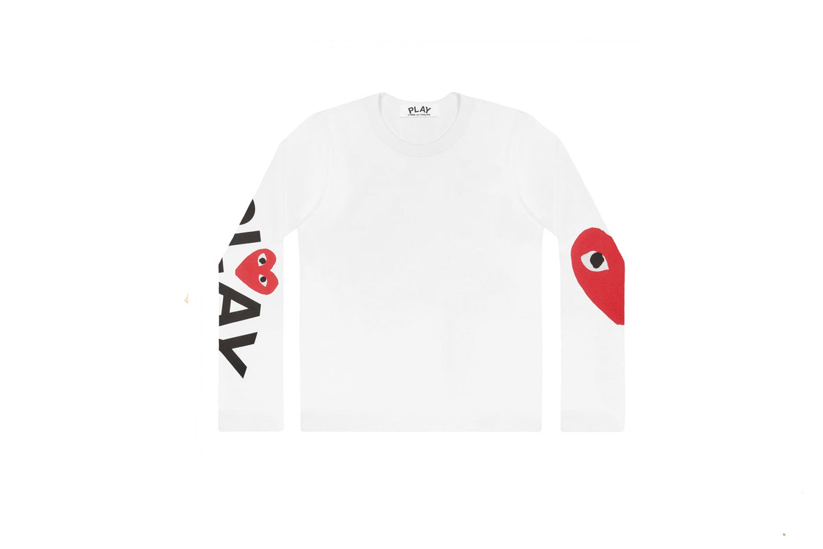 CDG PLAY Oversized Heart Long Sleeve
