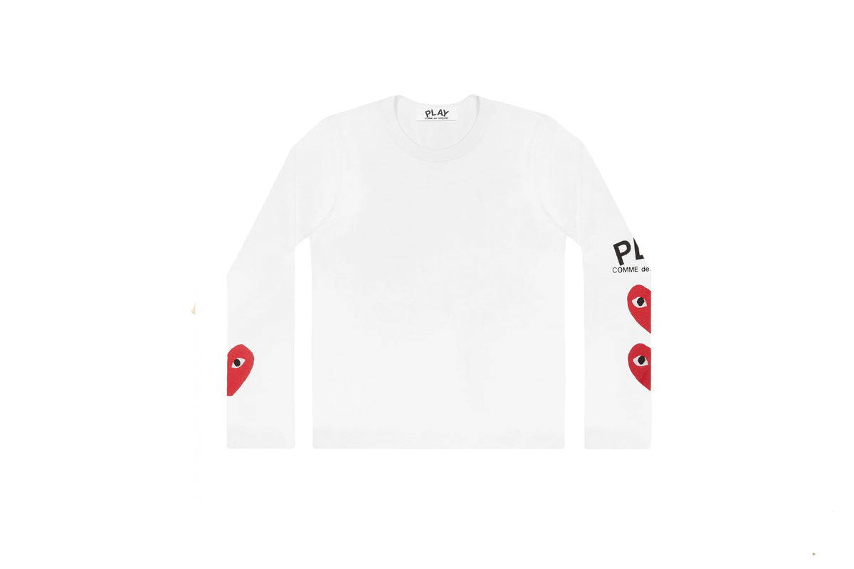 CDG PLAY Printed Long Sleeve