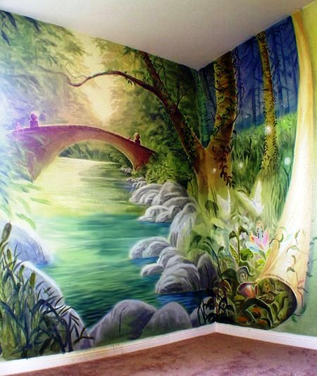 JAS/JFMAF Sonic Auction: $350 Towards a Custom Children's Mural from Lazure Custom Wall Designs
