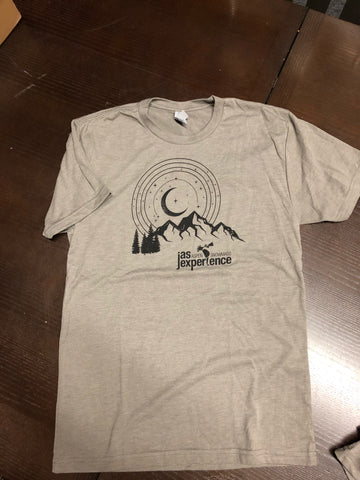 Men's Labor Day Moon Tee with 18 Lineup Venetian Grey T-Shirt