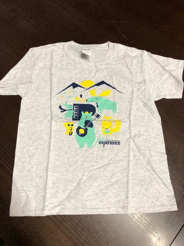Youth JAS Labor Day Experience Animal T-Shirt