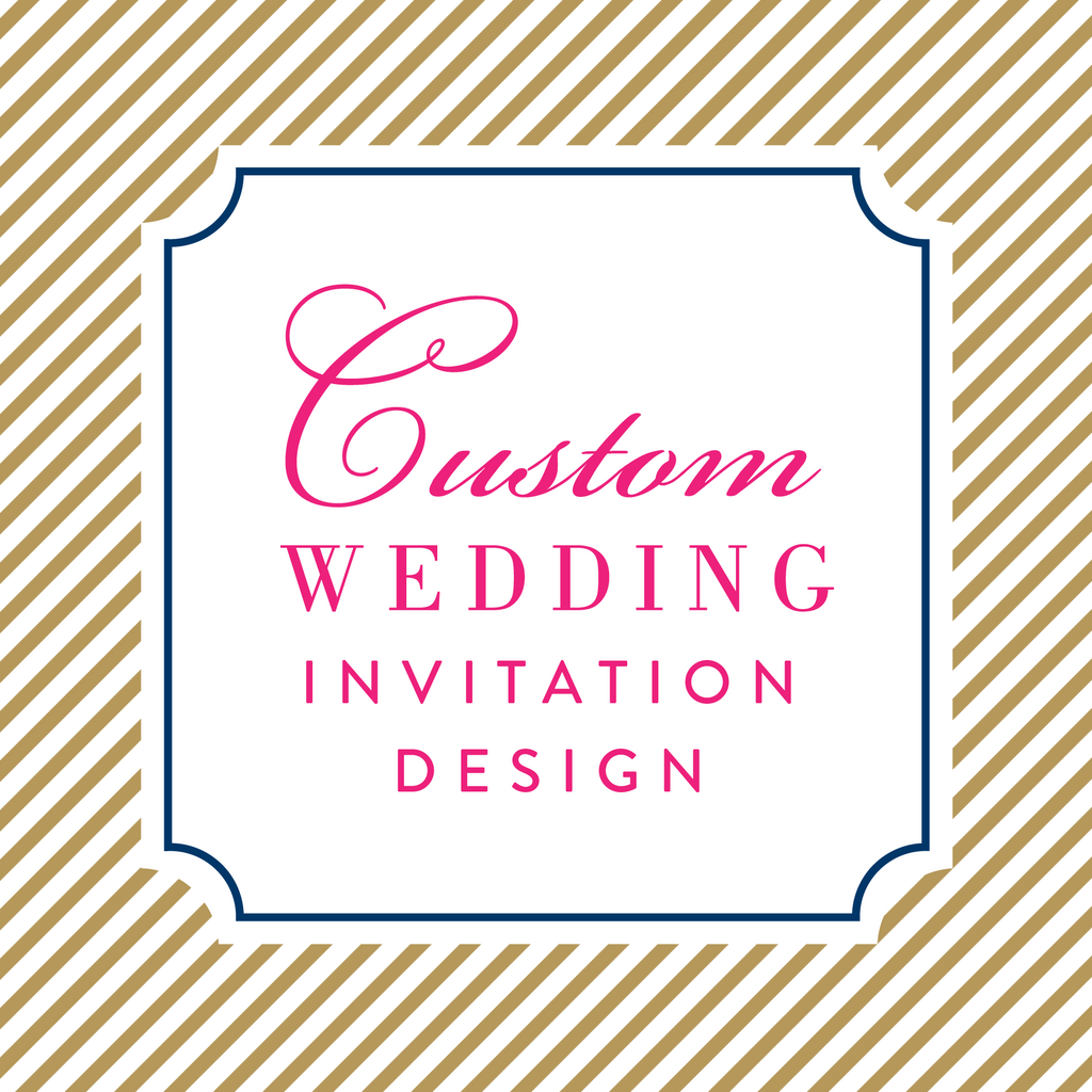 Custom Wedding Invitation Design
