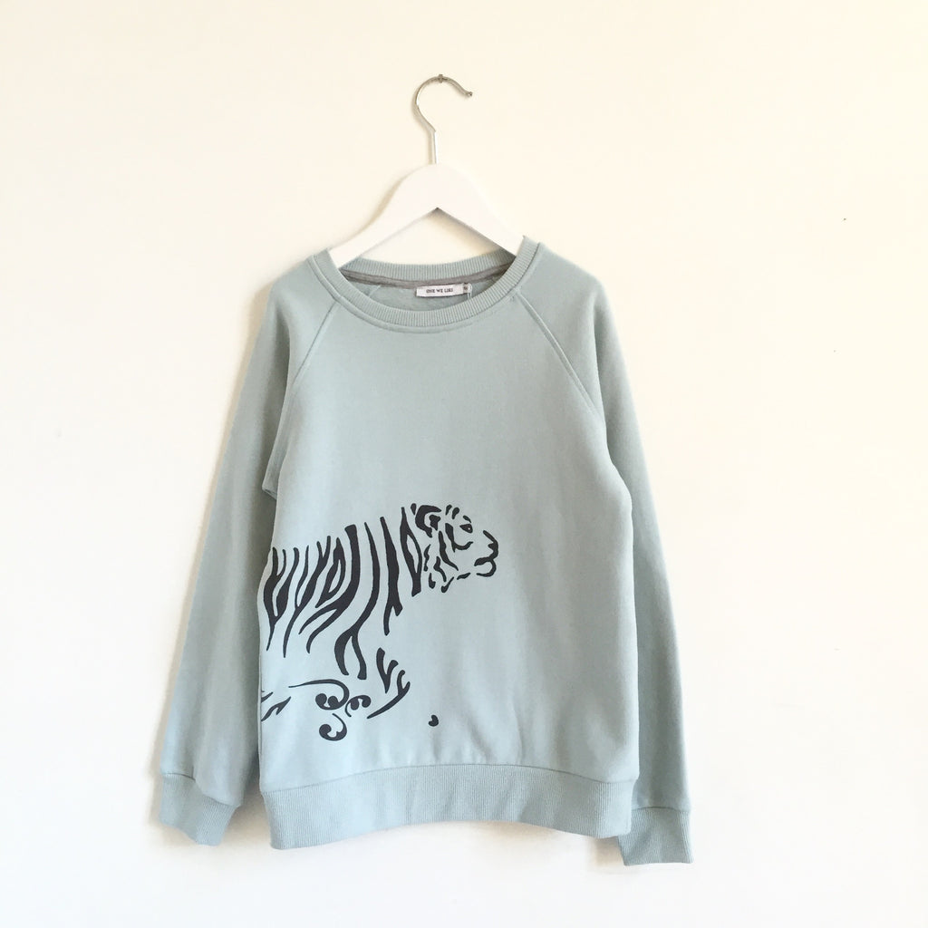 Sweatshirt Tiger Run