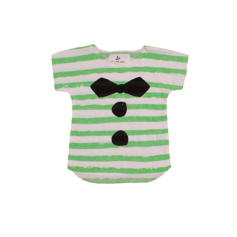 Baby TShirt Green Stripes