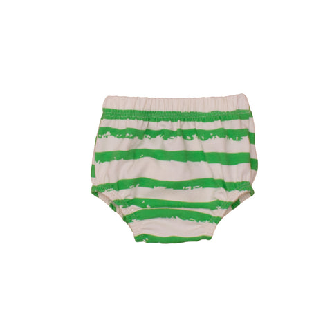 Bloomers Green Stripes