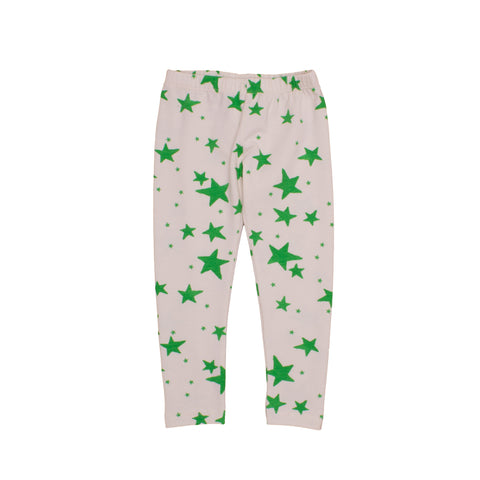Leggings Green Stars