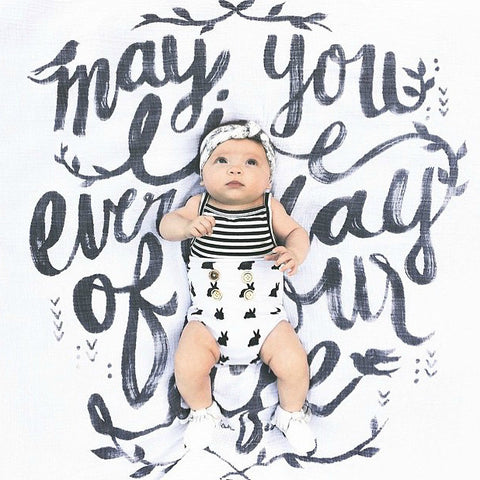 May you Live Organic Swaddle Scarf