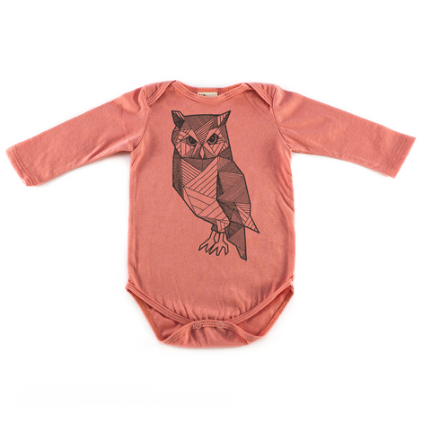 Graphic Onesie Owl