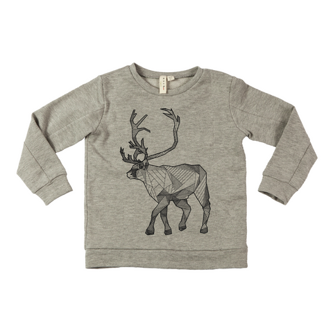 Graphic Sweater Reindeer