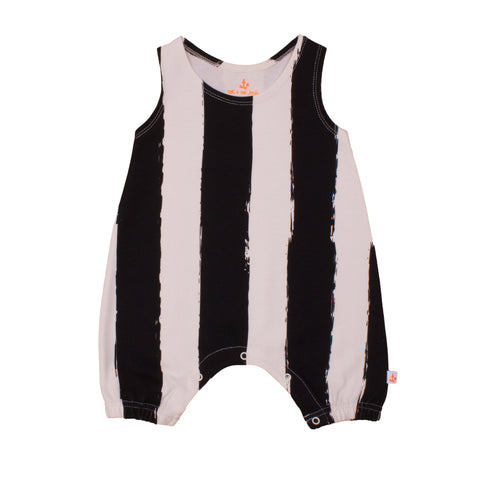 Black Stripes Overall