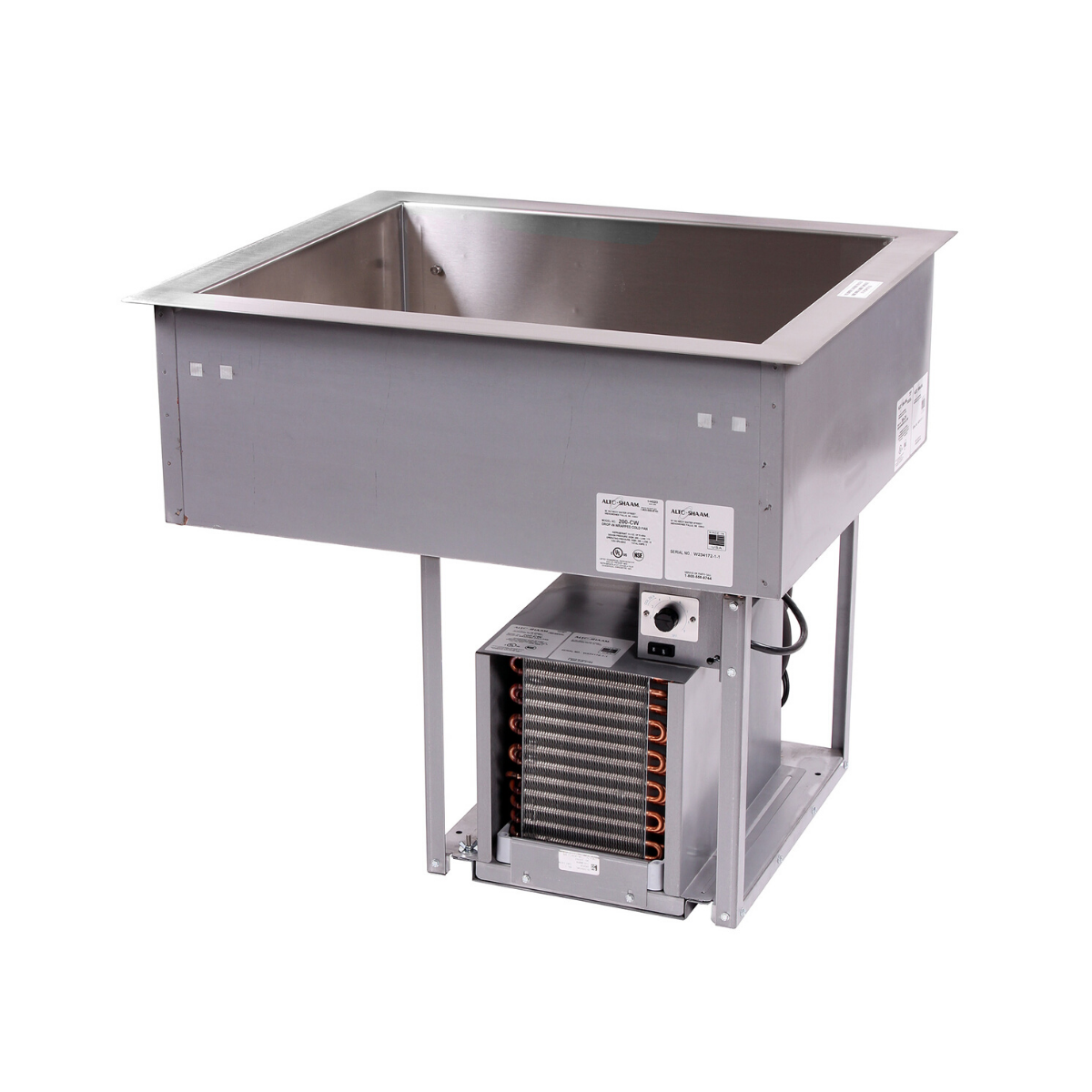 Alto Shaam 200-CW Cold Food Well Unit, Drop-In, Refrigerated
