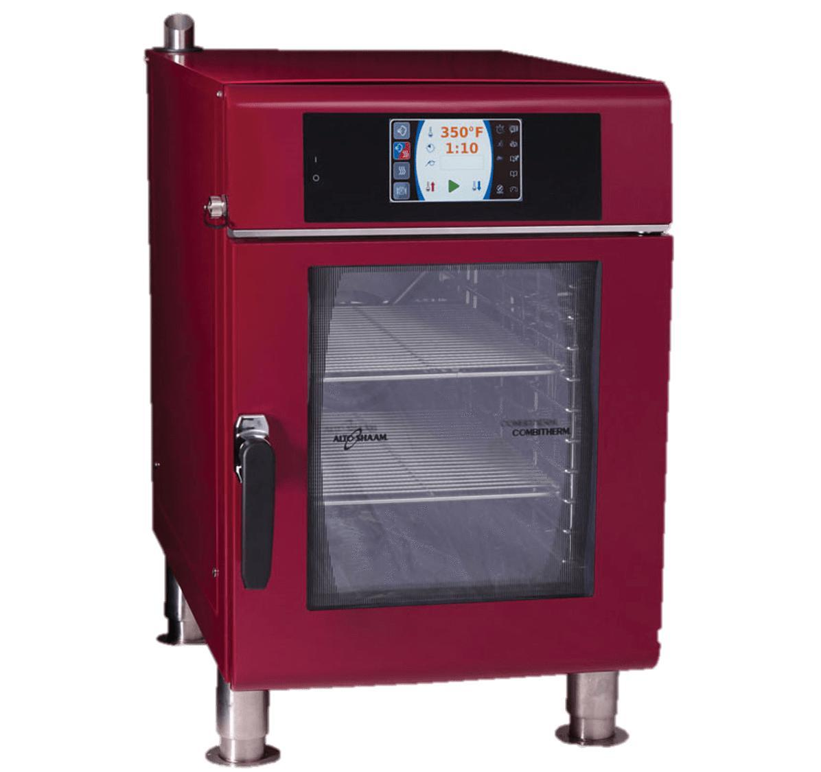 Alto-Shaam CTX4-10EC Combitherm Electric Combi Oven, Burgundy