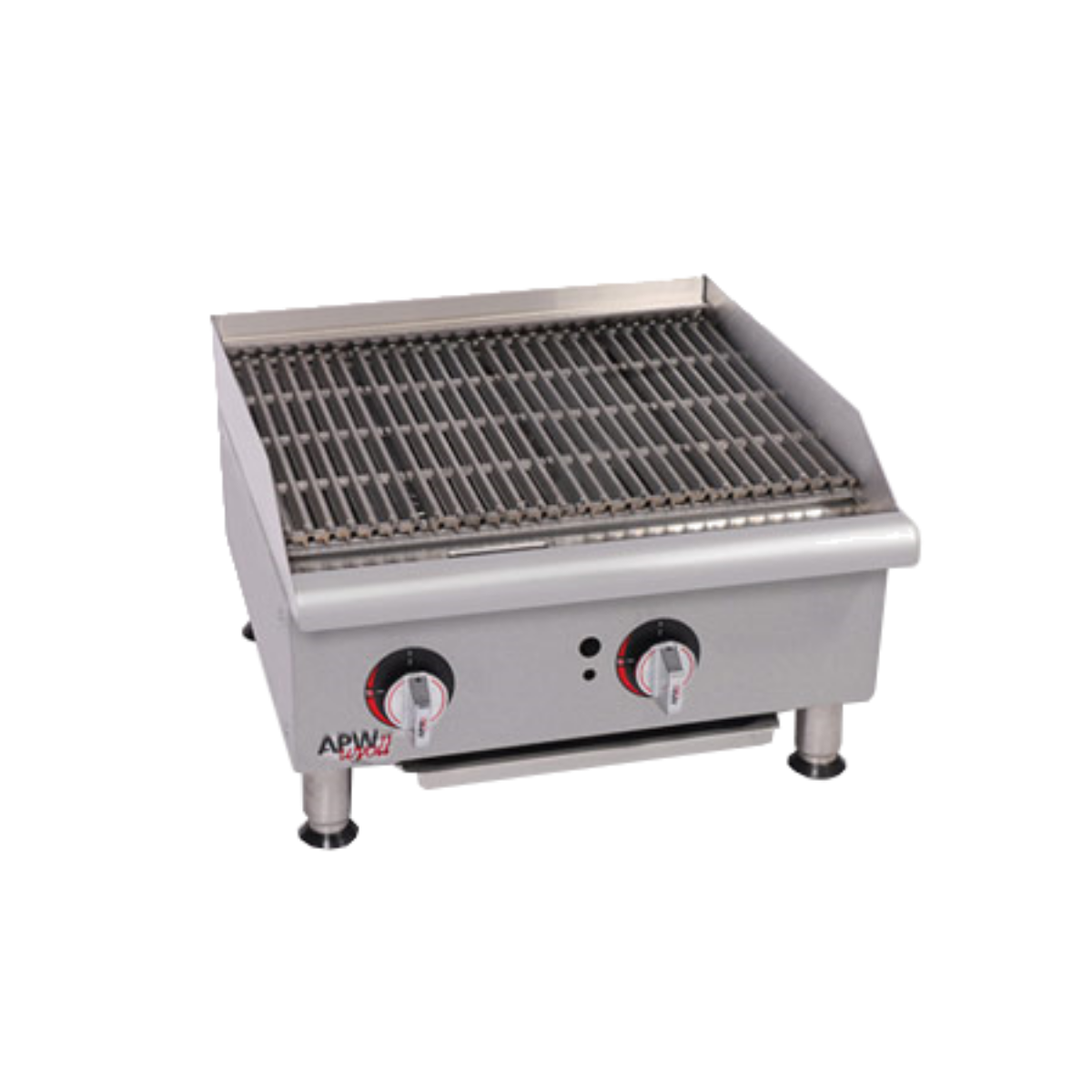 APW GCB-24IS Charbroiler, Gas, Countertop w/Safety Pilot