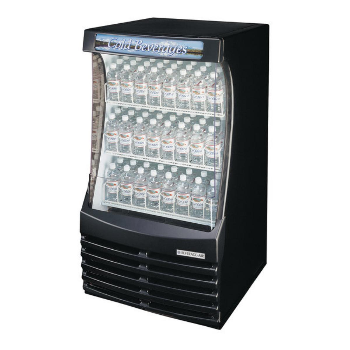 Beverage Air BZ13-1-B Breeze Open Display Case