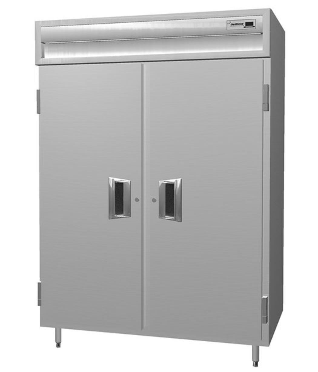 Delfield SSR2-S Two Section Refrigerator