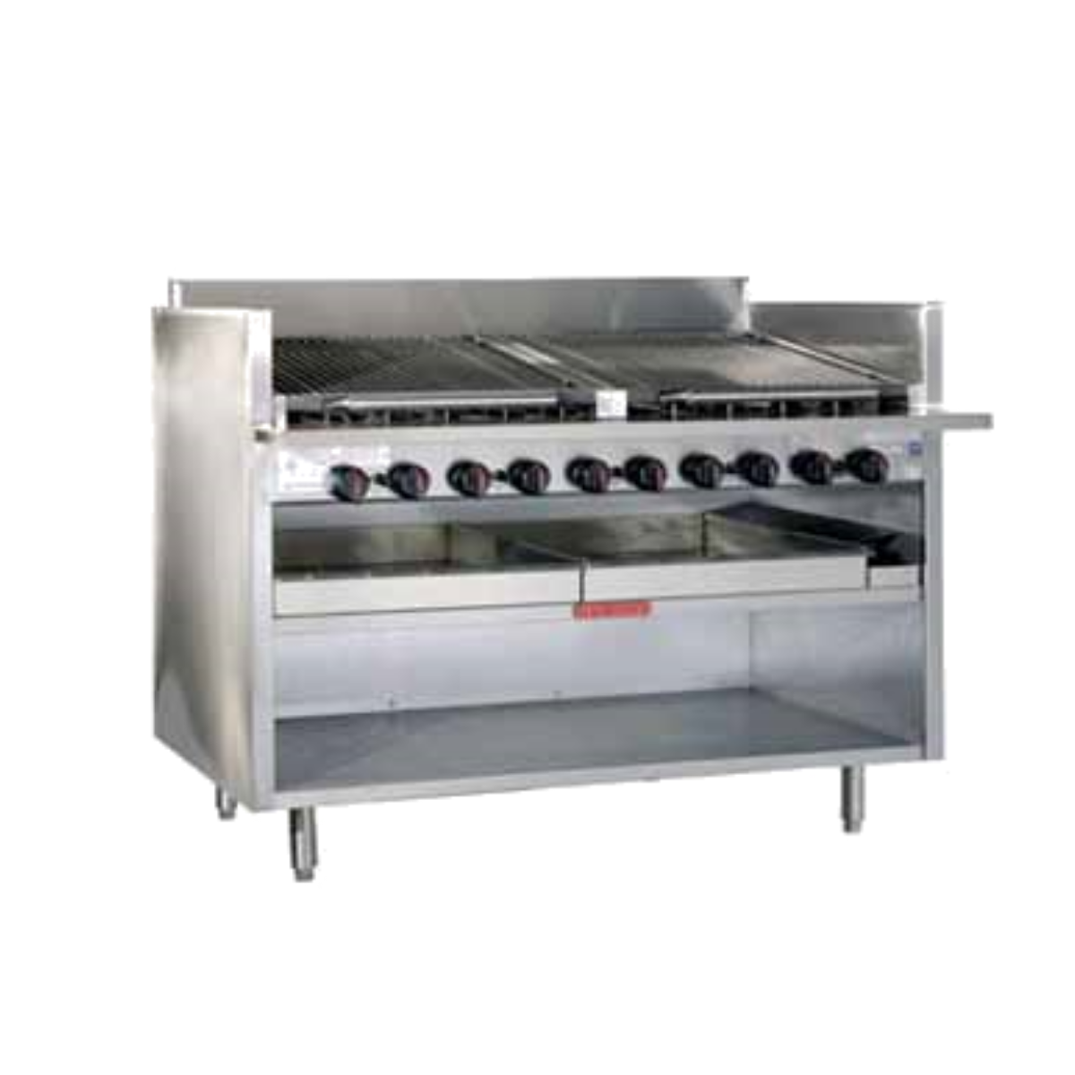 Magikitch'n FM-RMB-624 Gas Charbroiler