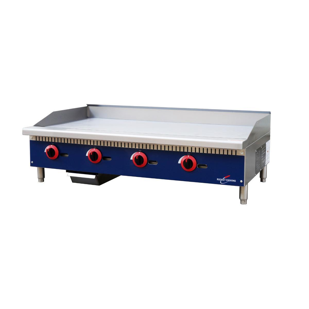 Rocket Cooking RCMG48 48 inch Manual Griddle