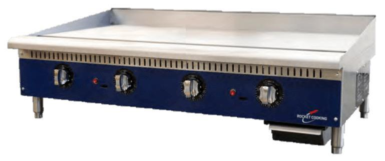 Rocket Cooking RCTG48 48 inch Thermostatic Griddle