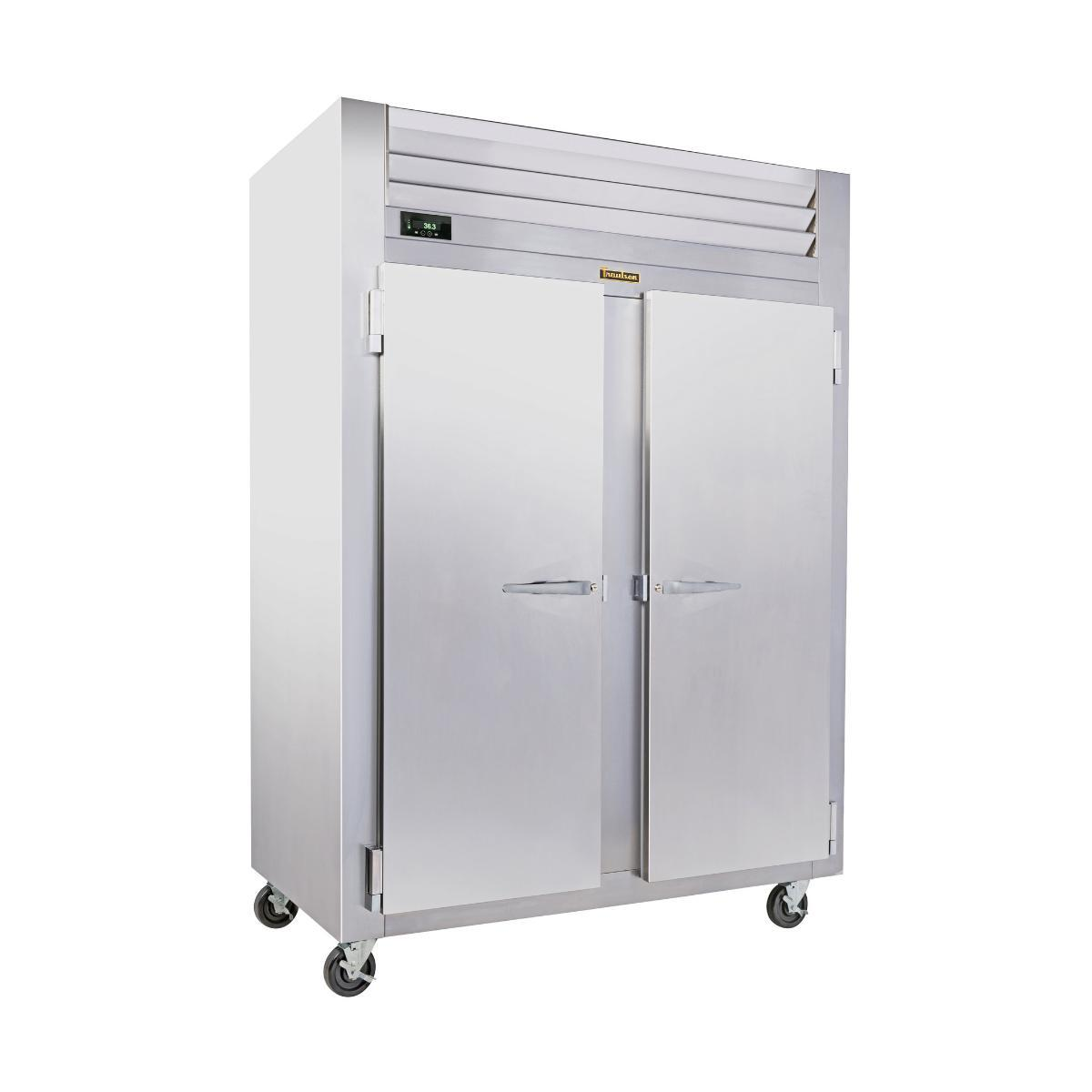 Traulsen RLT232WUT-FHS Stainless Steel 51.6 Cu. Ft. Two-Section Solid Door Reach-In Freezer