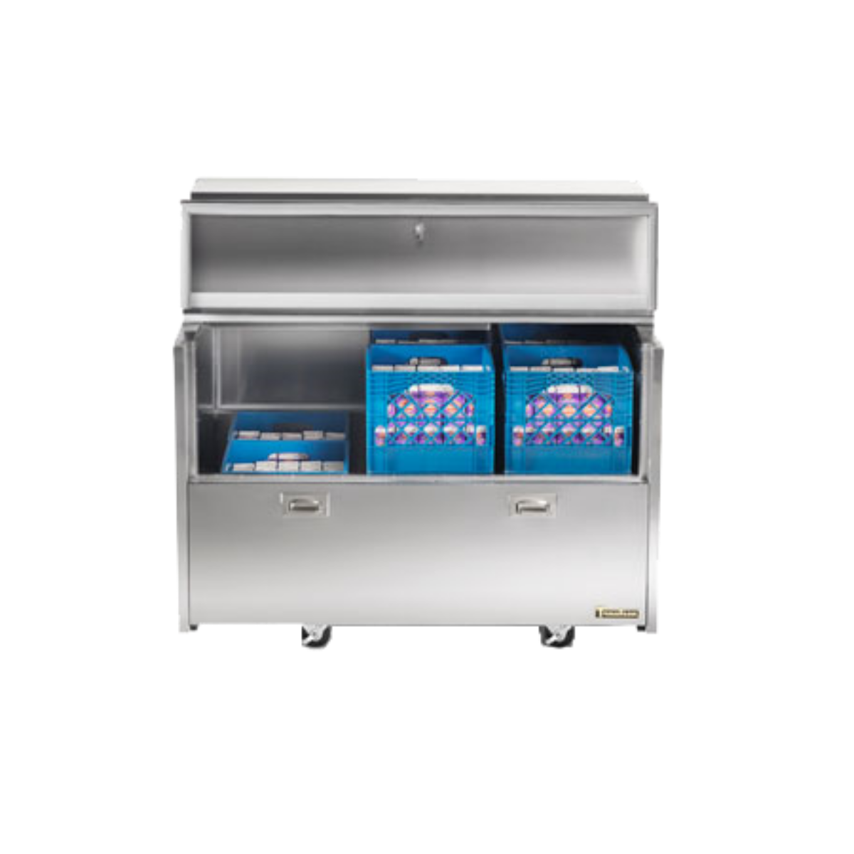 Traulsen RMC58S6 Milk Cooler/Station