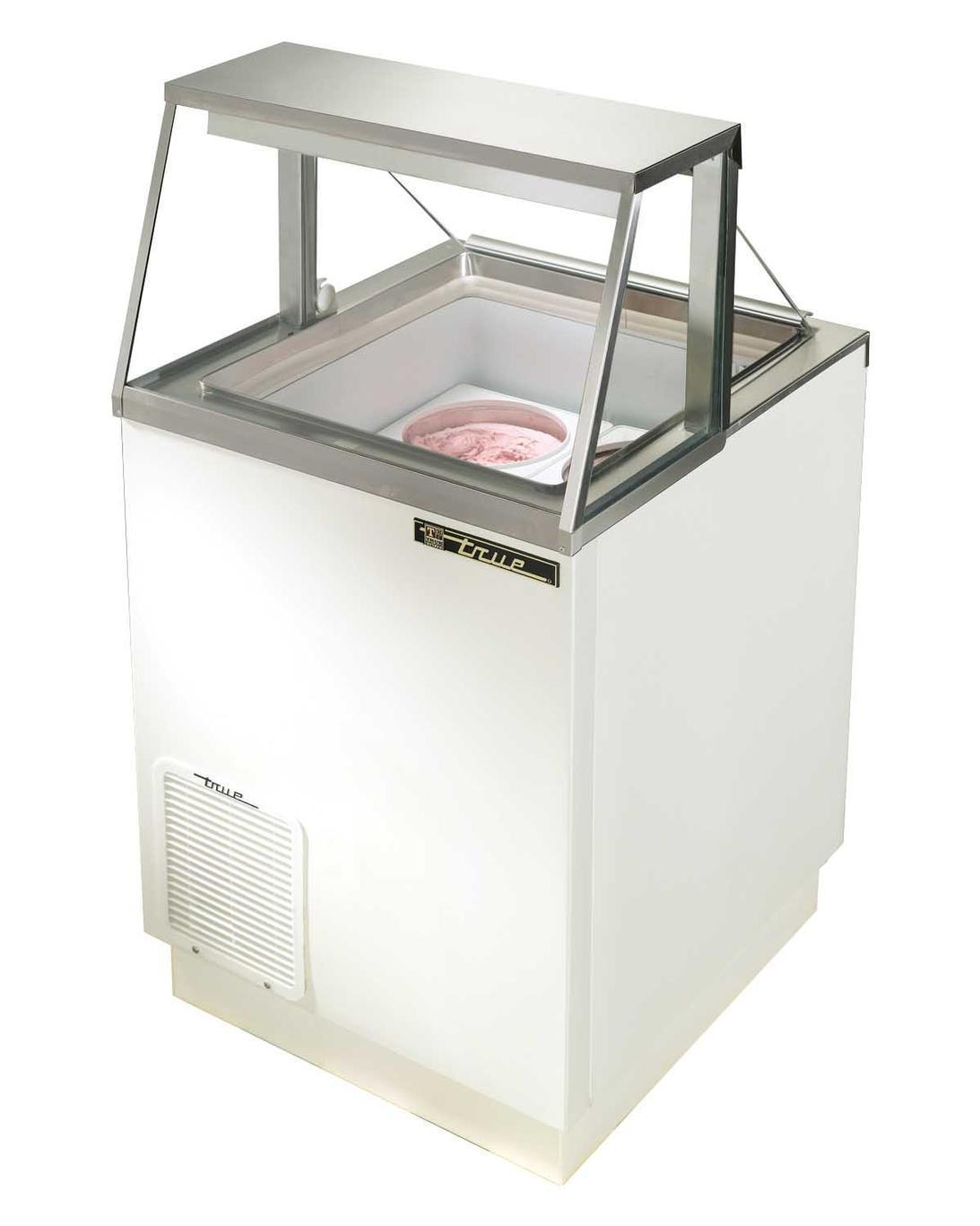 True TDC-27 Ice Cream Dipping Cabinet, 4 Tub Capacity