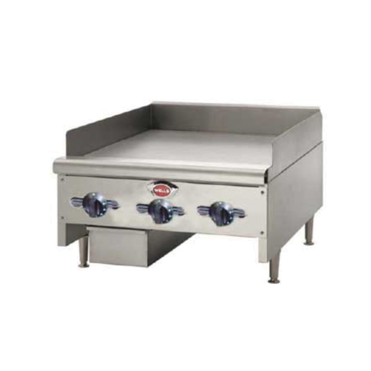 Wells HDTG-2430G Countertop Griddle, Gas