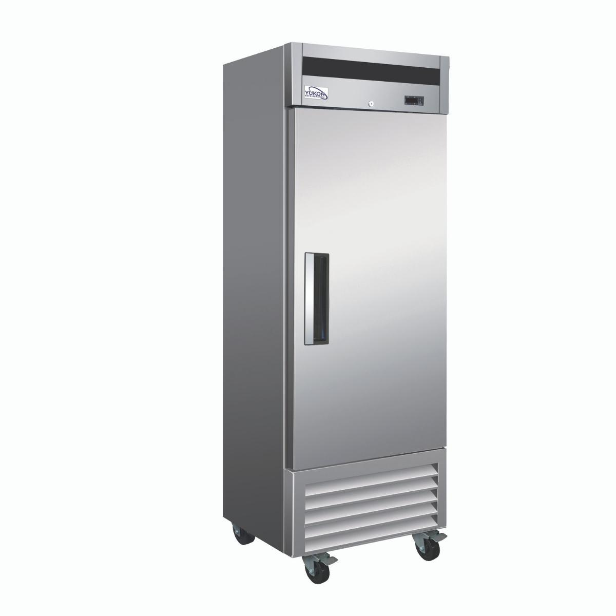 Yukon Y-19F-HC 27 inch Solid Door Reach-In Freezer