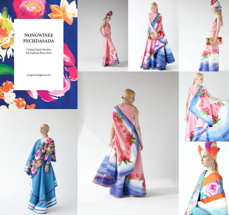 Beautiful Felt Fashion By Nongwinee Pechdasada