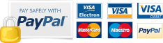 We Accept All Major Credit and Debit Cards