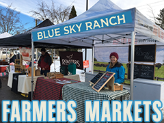 Find us at Farmers Markets in Metro Vancouver