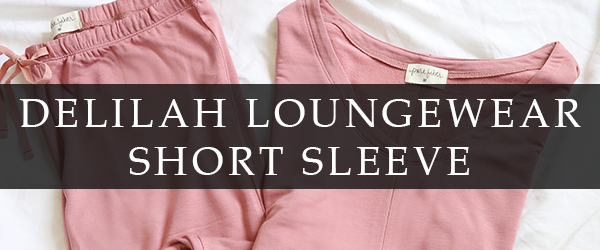 Delilah Loungewear Short Sleeve