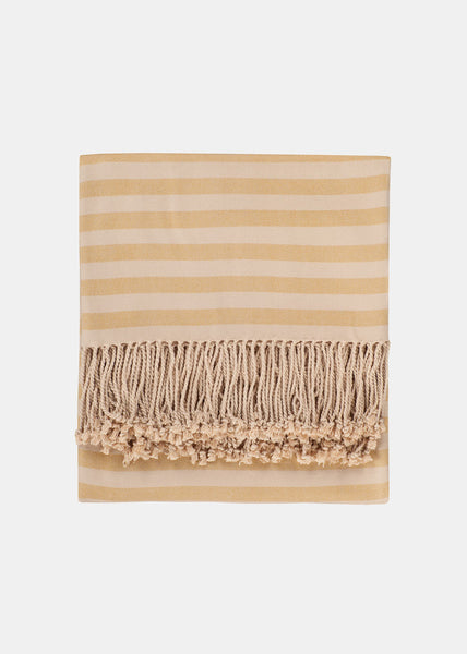 Striped Bamboo Viscose Throw