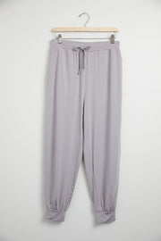 Bamboo Draped Jogger Pants