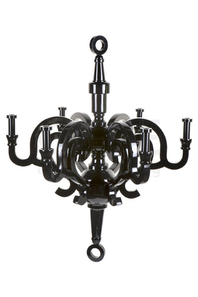Medusa Chandeliers Eight Light Black