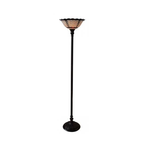 Art Deco Tiffany Uplighter Floor Lamp