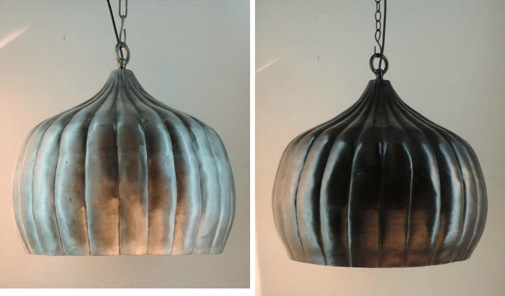 Pumpkin Pendant Lights