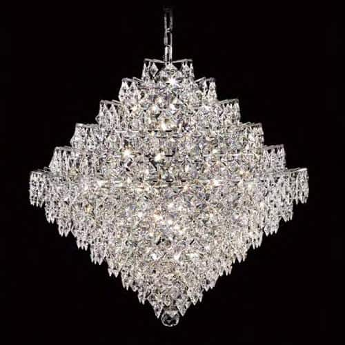 Diamond 22 Light Asfour Crystal Chandelier