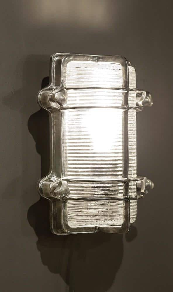 Harley Wall Lamp in Antique Silver