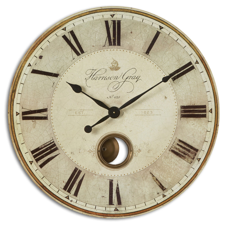 "Harrison Gray 30"" Clock"