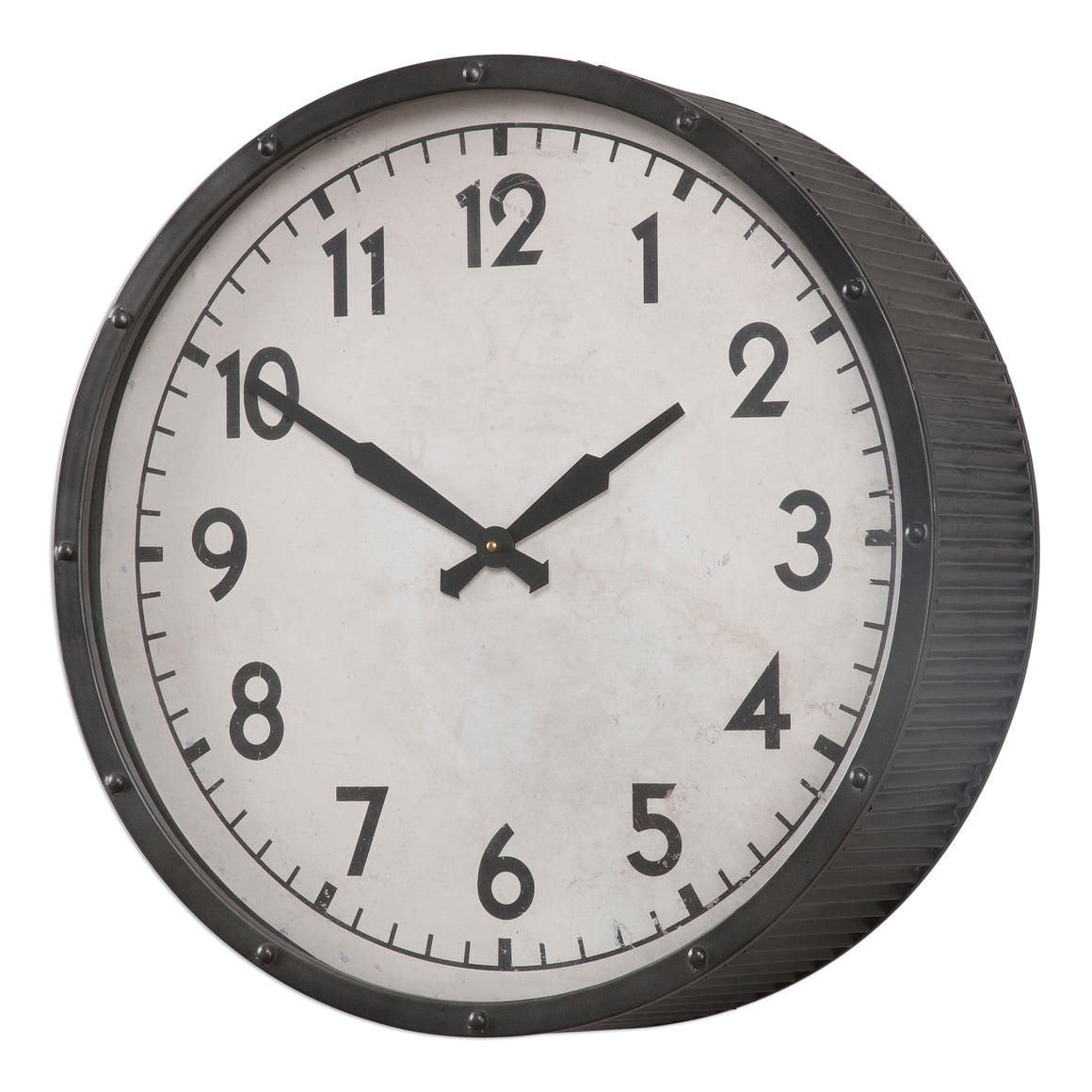 Berta Ivory Wall Clock