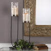 Durga Iron Work Candleholders Set/2