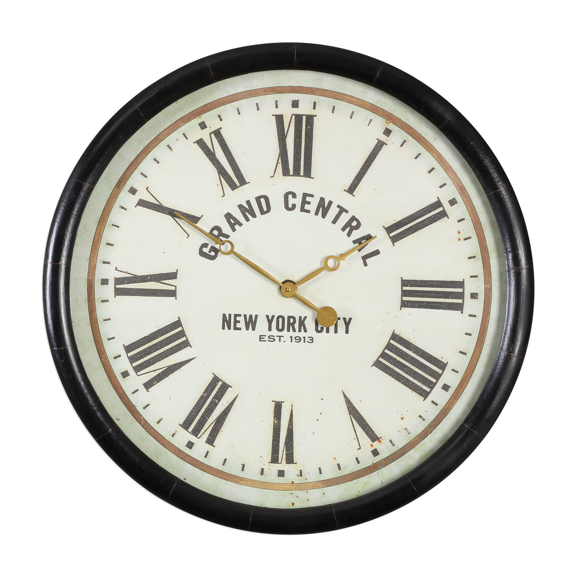 "Leonor ""Grand Central"" Wall Clock"
