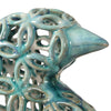 Sama Teal Bird Sculptures, S/2