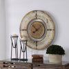 Ezekiel Weathered Wall Clock