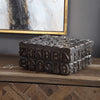 Typesetting Decorative Bronze Box