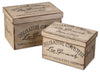Chocolaterie Decorative Boxes, Set/2