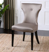 Wynter Satin Armless Chair