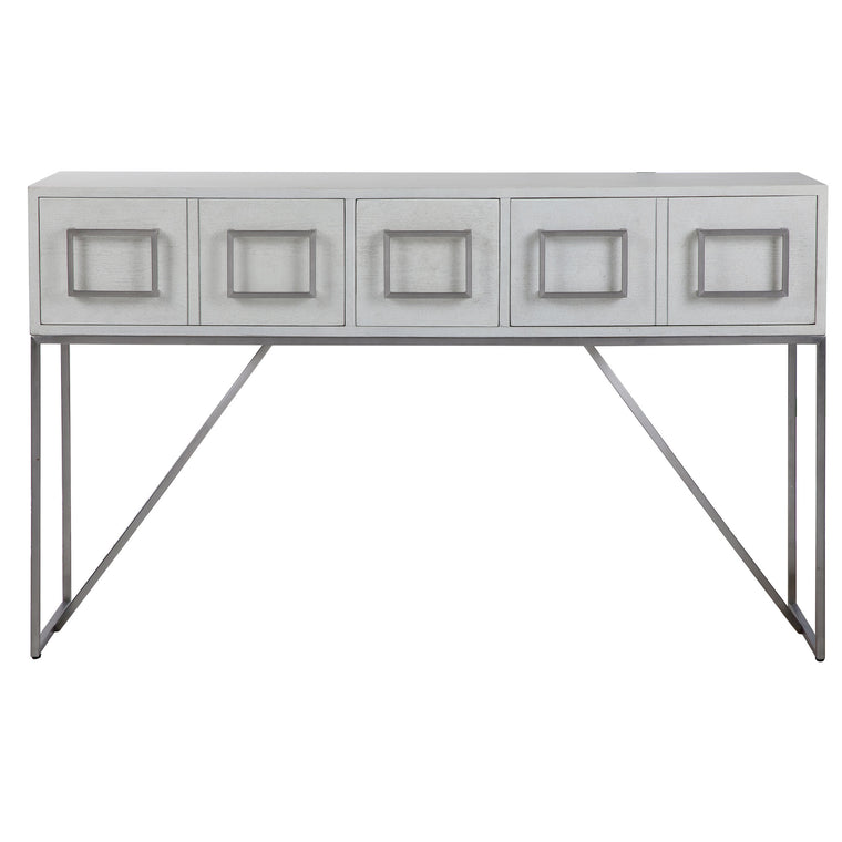 Abaya White Console Table