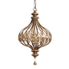 Pendant - Sabina Gold And Crystal Pendant Light By Uttermost